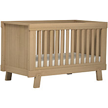 Buy John Lewis Stockholm Cotbed, Ash Online at johnlewis.com
