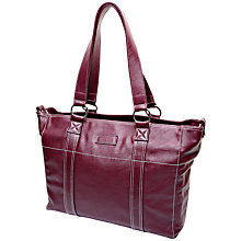 Buy Mia Tui Amelie Changing Bag, Aubergine Online at johnlewis.com