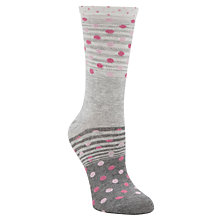 Buy John Lewis Spots & Stripes Ankle Socks Online at johnlewis.com