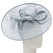 Buy John Lewis Lucy Upturned Disc Fascinator, Blue Online at johnlewis.com