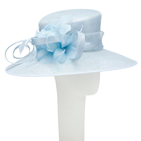 Buy John Lewis Ash East to West Occasion Hat, Sky Online at johnlewis.com