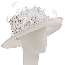 Buy John Lewis Lana Medium Spot Occasion Hat Online at johnlewis.com