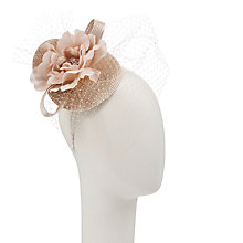 Buy John Lewis Camille Braid Flower Corsage Fascinator with Netting Online at johnlewis.com