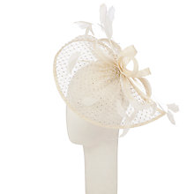 Buy Snoxells Diamond Disc Tear Drop Hat Fascinator Online at johnlewis.com