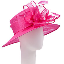 Buy John Lewis Libby Medium Knot Occasion Hat, Lipstick Online at johnlewis.com