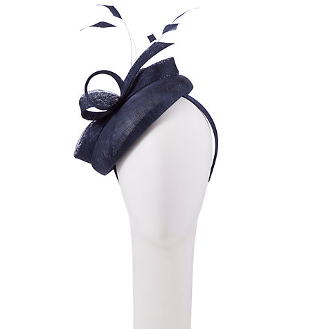 Buy John Lewis Cat Round Pillbox Hat Fascinator Online at johnlewis.com