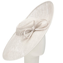 Buy John Lewis Leah Large Bow Disc Hat Fascinator Online at johnlewis.com