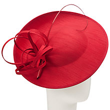Buy John Lewis Erin Medium Shantung Disc Hat Fascinator Online at johnlewis.com