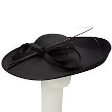 Buy John Lewis Zoe Upturned Shantung Disc Occasion Hat Online at johnlewis.com