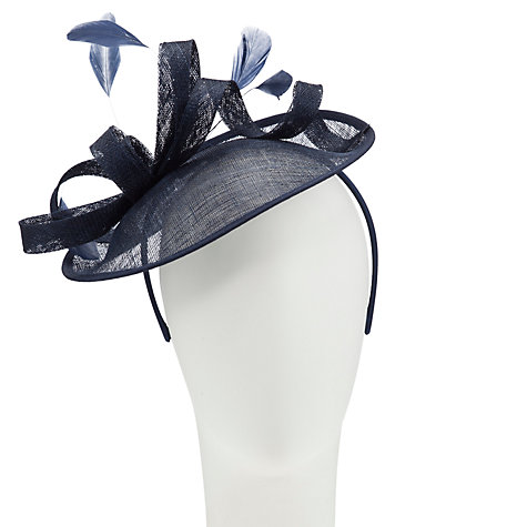 Buy John Lewis Beatrice Swirl Disc Hat Fascinator Online at johnlewis.com