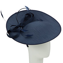 Buy John Lewis Alex Shantung Oval Disc Hat Fascinator Online at johnlewis.com