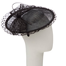 Buy John Lewis Balfour Ruby Small Window Disc Fascinator Online at johnlewis.com