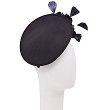 Buy John Lewis Ria Shantung Disc Hat Fascinator Online at johnlewis.com