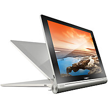 "Buy Lenovo Yoga Tablet 8, Quad-core Processor, Android, 8"", Wi-Fi, 16GB, Silver Online at johnlewis.com"