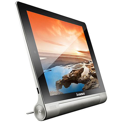 "Buy Lenovo Yoga Tablet 10, Quad-core Processor, Android, 10"", Wi-Fi, 16GB, Silver Online at johnlewis.com"