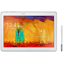 "Buy Samsung Galaxy Note 10.1 2014 Edition Tablet, Octa-Core Samsung Exynos, Android, 10.1"", 16GB, Wi-Fi & 3G, White Online at johnlewis.com"