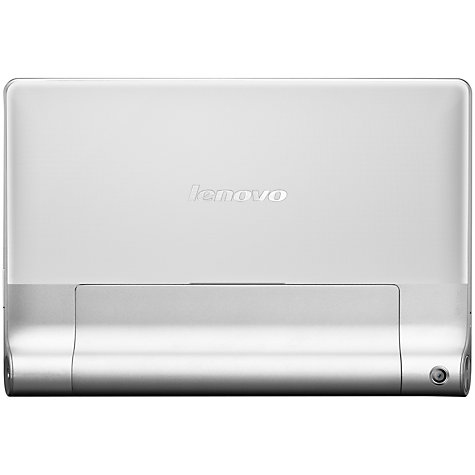 "Buy Lenovo Yoga Tablet 10, Quad-core Processor, Android, 10"", Wi-Fi & 3G, 16GB, Silver Online at johnlewis.com"