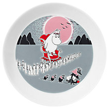 Buy Finland Arabia Moomin Plate, Dia.19cm Online at johnlewis.com