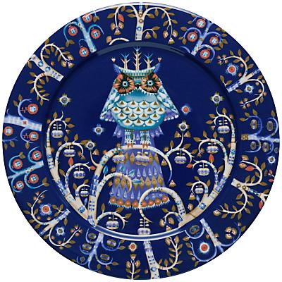 Iittala Blue Taika Dinner Plate, Dia.27cm