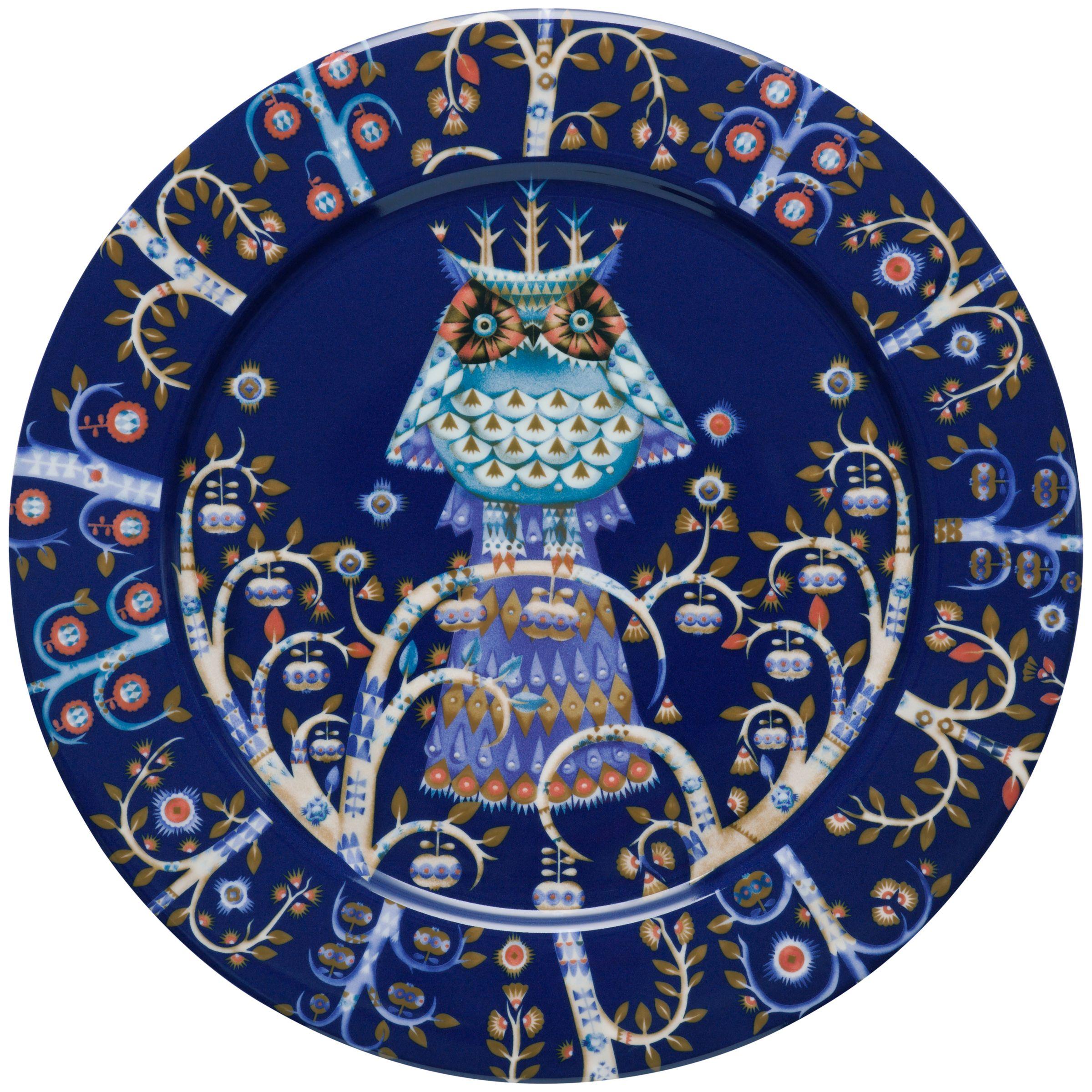 Iittala Iittala Blue Taika 27cm Dinner Plate