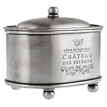 Buy Culinary Concepts Côtes de Provence Oval Storage Box Online at johnlewis.com