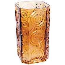 Buy Dartington Echo Square Vase, Assorted Online at johnlewis.com