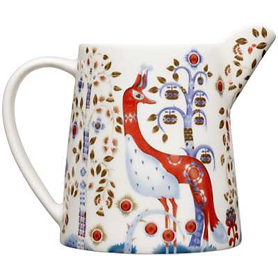 Iittala White Taika Pitcher, 0.5L