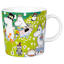 Buy Finland Arabia Moomin Jubilee Mug, 0.3L Online at johnlewis.com