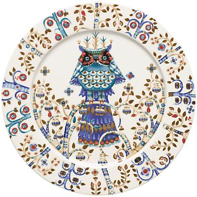 Iittala White Taika Dinner Plate, Dia.27cm