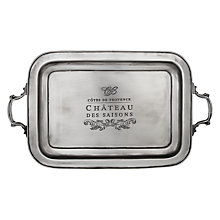 Buy Culinary Concepts Côtes de Provence Rectangular Tray Online at johnlewis.com