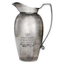 Buy Culinary Concepts Côtes de Provence Decorative Water Pitcher Online at johnlewis.com