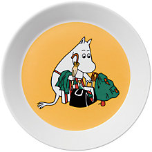 Buy Finland Arabia Moominmamma Plate, Apricot Online at johnlewis.com