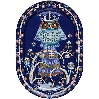Iittala Blue Taika Dinner Platter, Dia.41cm