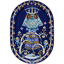 Buy Iittala Blue Taika Dinner Platter, Dia.41cm Online at johnlewis.com