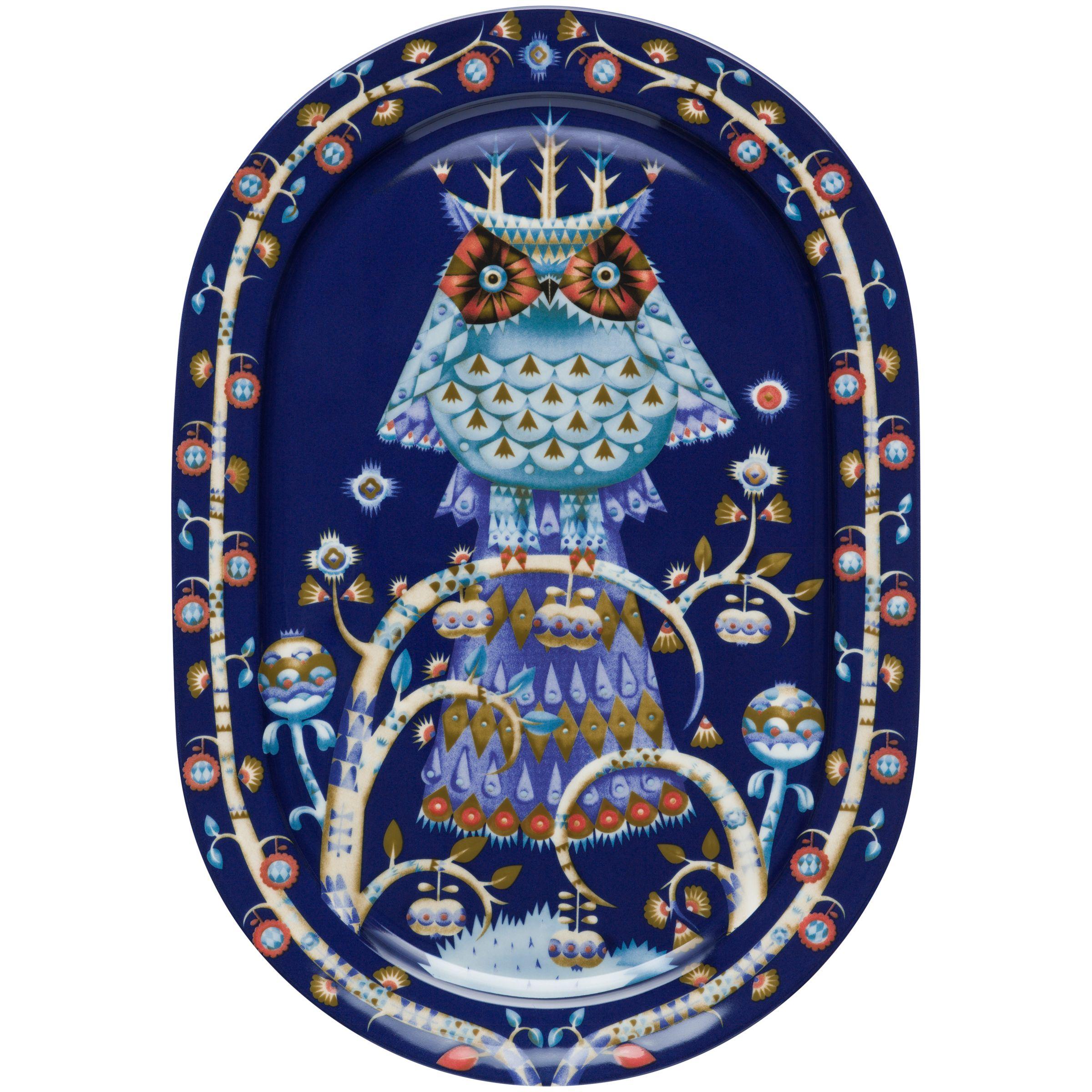Iittala Iittala Blue Taika 41cm Dinner Platter