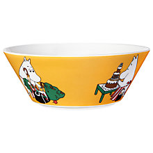 Buy Finland Arabia Moominmamma Bowl, Apricot Online at johnlewis.com