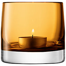 Buy LSA Light Colour Tealight Holder Online at johnlewis.com