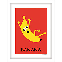 Buy Lucy Begent - Banana Framed Print, 43 x 33cm Online at johnlewis.com