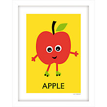 Buy Lucy Begent - Apple Framed Print, 43 x 33cm Online at johnlewis.com