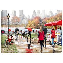 Buy Richard Macneil - In Central Park Print on Canvas, 70 x 100cm Online at johnlewis.com