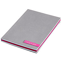 Buy A6 Notebook, Pink Online at johnlewis.com