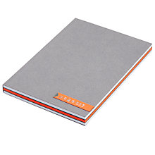 Buy A6 Notebook, Orange Online at johnlewis.com
