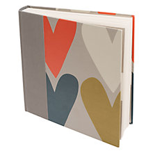 Buy Caroline Gardner Heart Photo Album Online at johnlewis.com