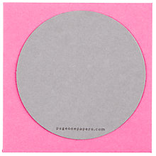 Buy Circular Cards, Pink, Small, Pack Of 8 Online at johnlewis.com
