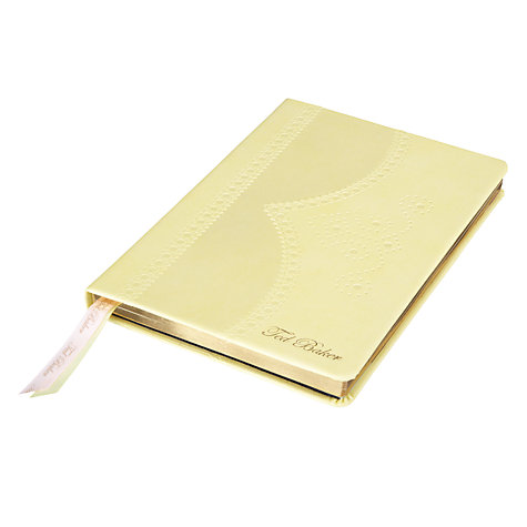 Buy Ted Baker Brogue Notebook Online at johnlewis.com