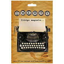 Buy Monster Factory Qwerty Fridge Magnets Online at johnlewis.com