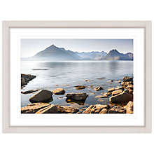 Buy Mike Shepherd - The Cuillin Mountains Framed Print, 81 x 107cm Online at johnlewis.com