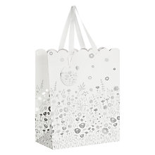 Buy John Lewis Wedding Blossom Gift Bag, White, Medium Online at johnlewis.com
