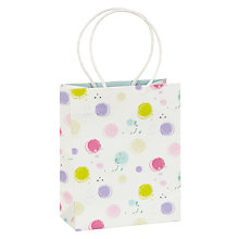 Buy John Lewis Spring Spot Small Gift Bag, Multi Online at johnlewis.com