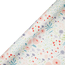 Buy John Lewis Meadow Wrapping Paper, L3m Online at johnlewis.com